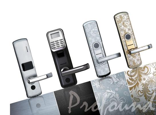 霍尼韦尔智能指纹门锁